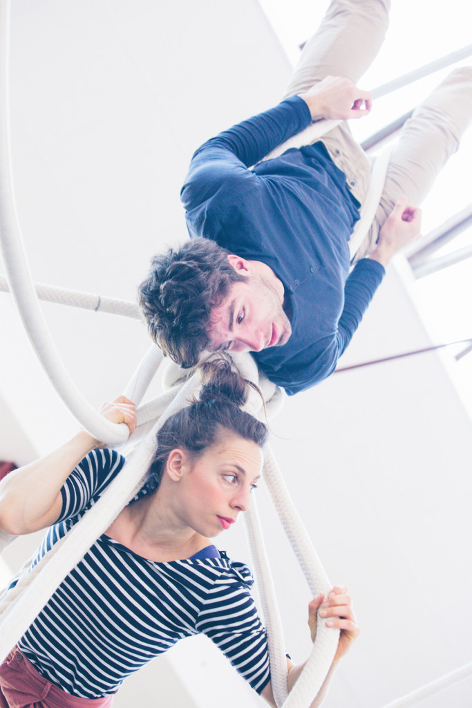 Clara Storti e Filippo Malerba - Piani in Bilico - ph Laura Novara
