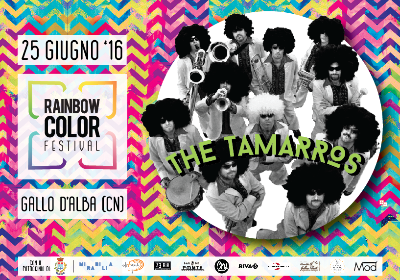 Rainbow Color Festival - the tamarros