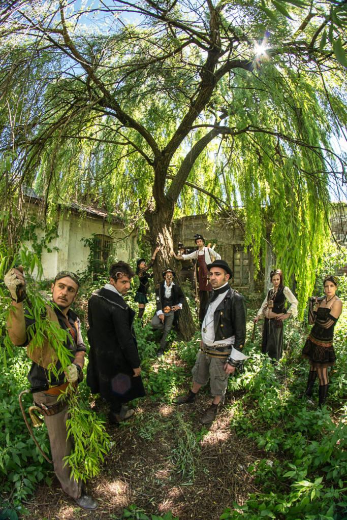 Voyages Extraordinaires - Steampunk Parade - Festival Mirabilia 2014 - ph Andrea Macchia