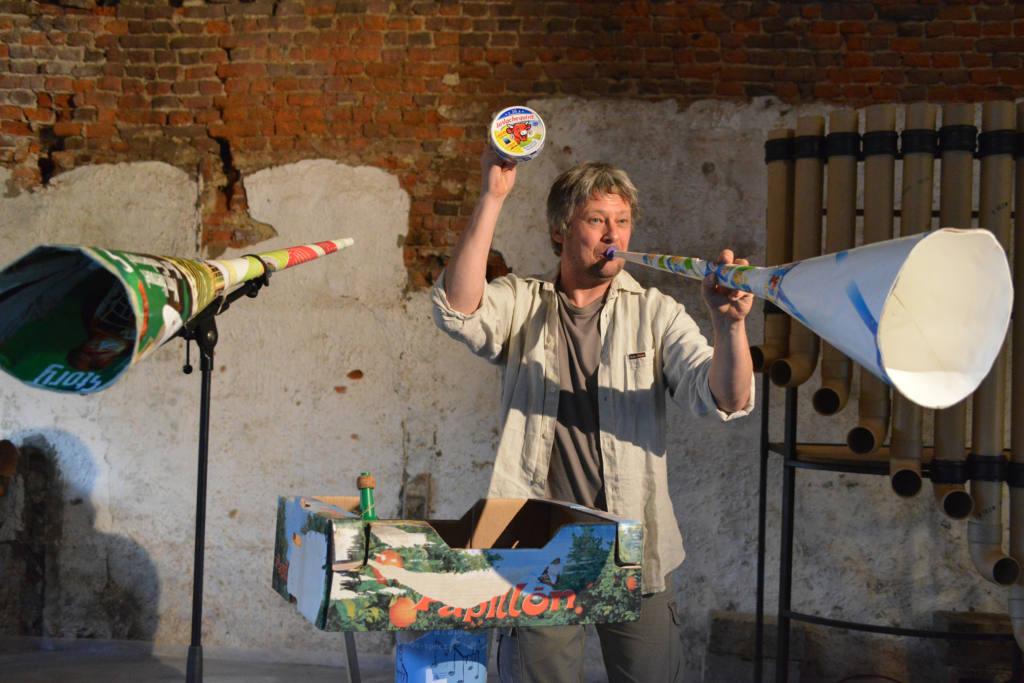 Max Vandervorst - Orchestra di carta - Festival Mirabilia 2017