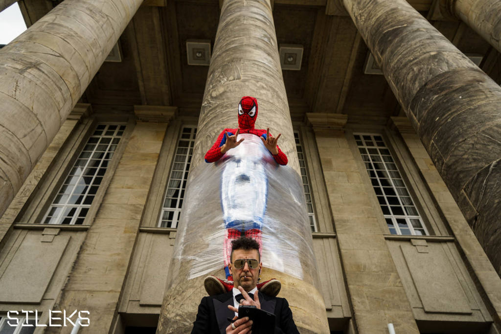 Tony Clifton Circus - Spiderman is back in Town - Festival Mirabilia 2017