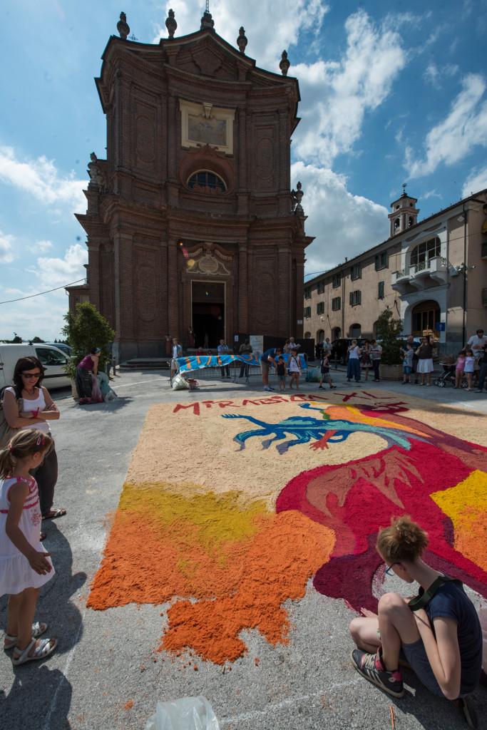 Amaranto Artigianato - L'infiorata - Festival Mirabilia 2013 - ph Andrea Macchia