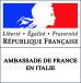 Ambassade de France en Italie - logo