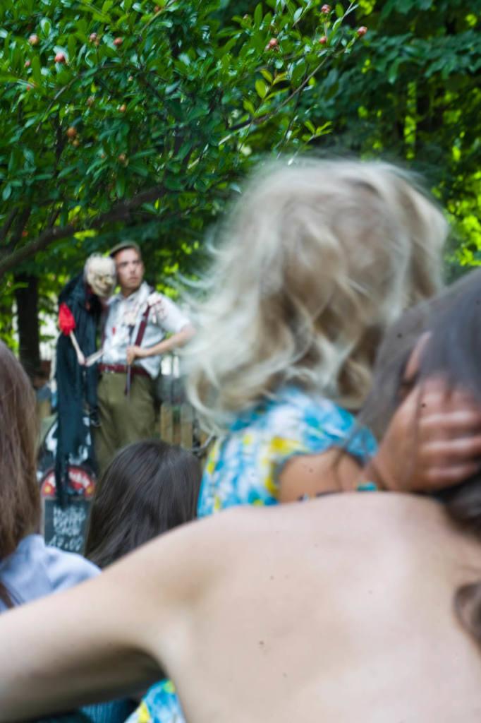 El Bechin - Horror puppets show - Festival Mirabilia 2011 - ph Andrea Macchia