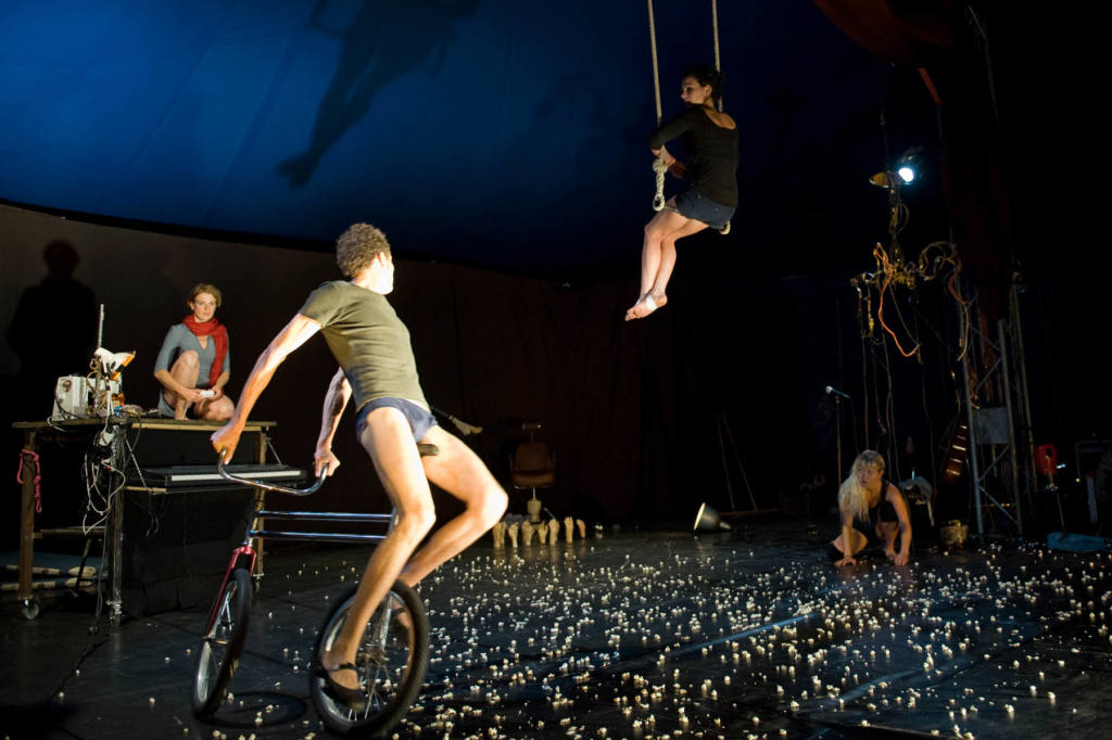 My!Laika - Popcorn machine - Festival Mirabilia 2011 - ph Andrea Macchia