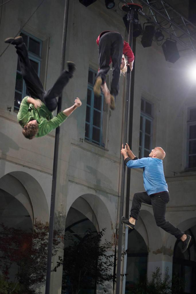 Sisters & Dimitris Papaioannou - Clockwork - Festival Mirabilia 2014 - ph Andrea Macchia