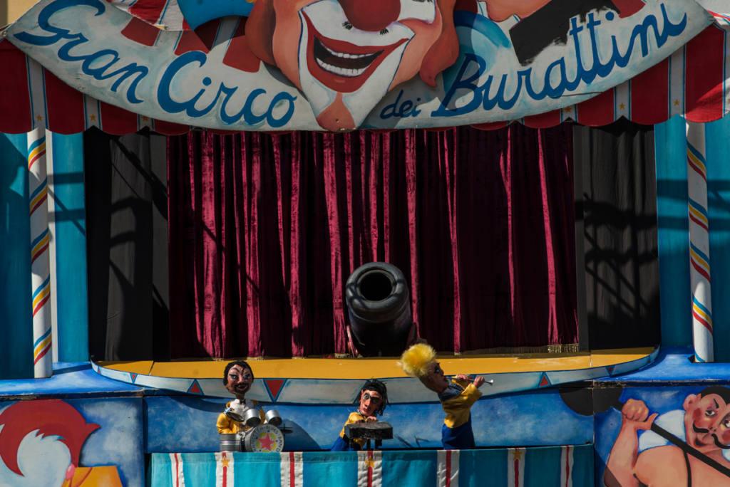 Teatro Pirata - Gran Circo dei Burattini - Festival Mirabilia 2013 - ph Andrea Macchia