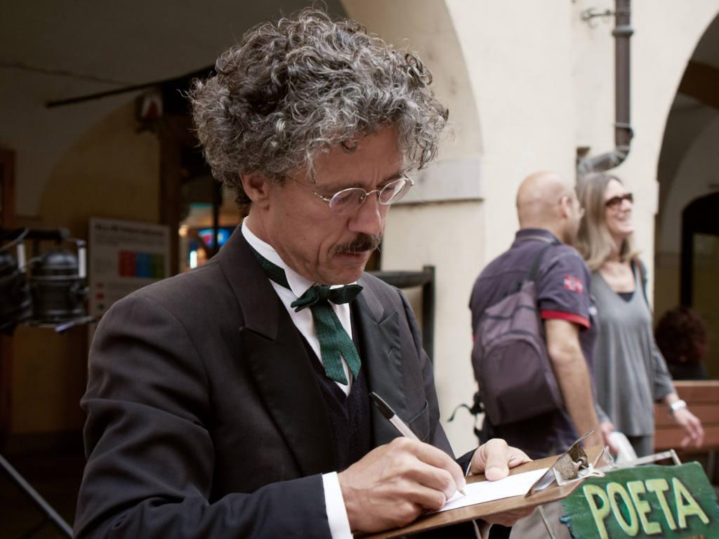 Silvestro Sentiero - Poeta Performer - Festival Mirabilia 2014 - ph Alessandro Sala