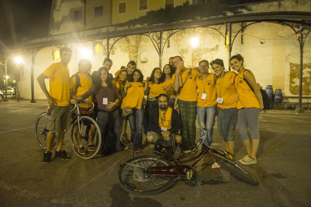 Volontari - Festival Mirabilia 2014 - ph Andrea Macchia