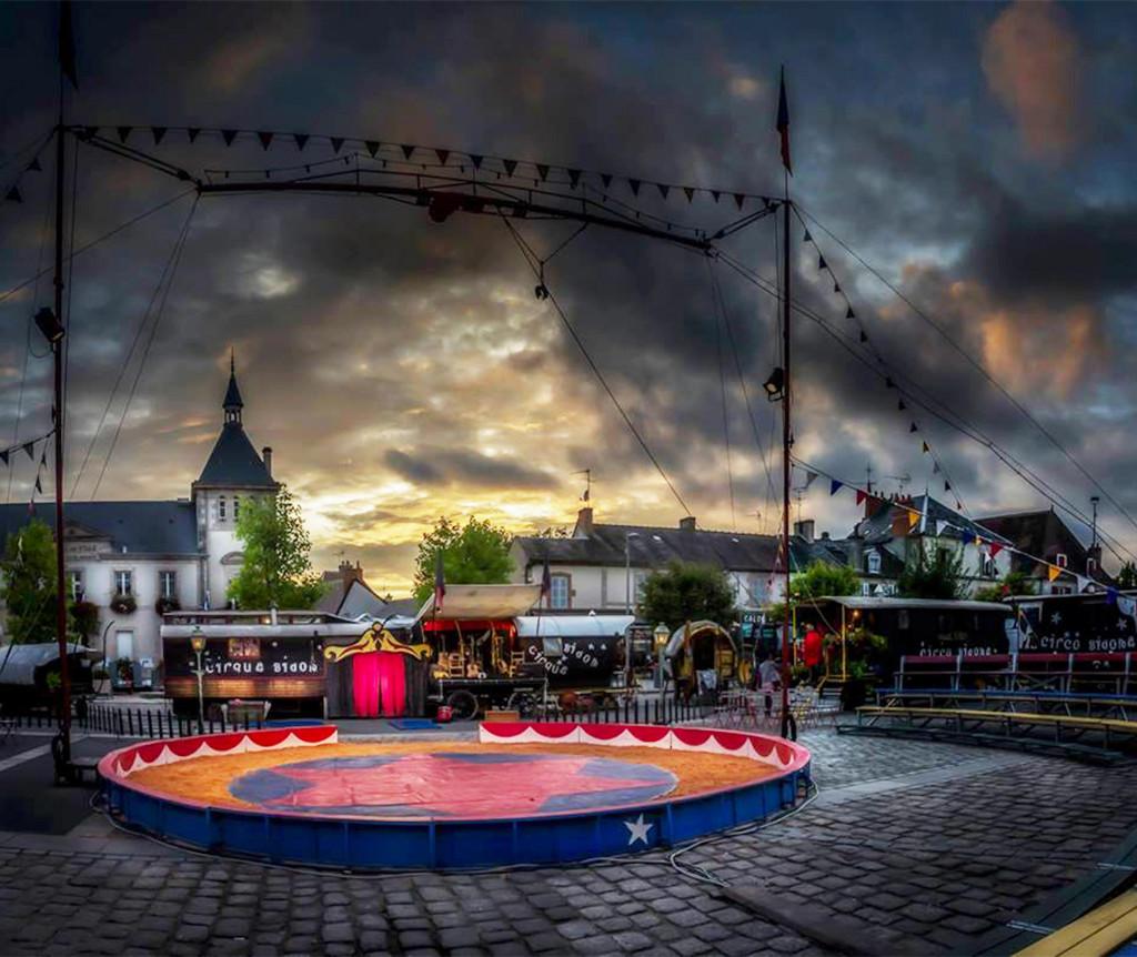 Cirque Bidon - Saint Severe sur Indre