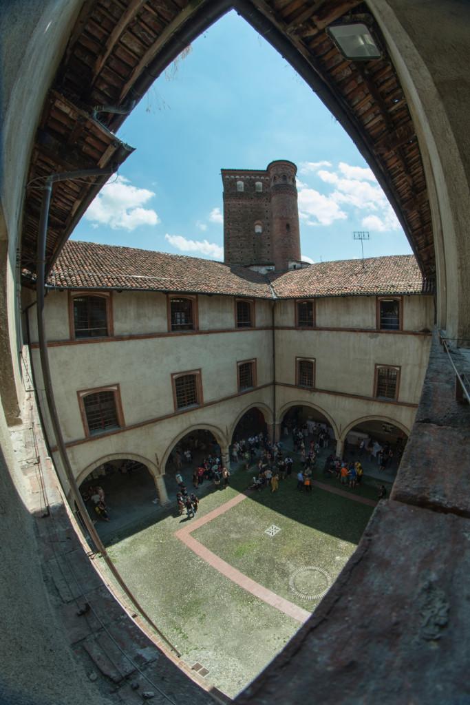 Castello degli Acaja - Cortile - ph Andrea Macchia